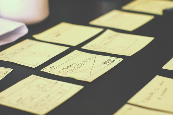 A lot of tasks in post-its